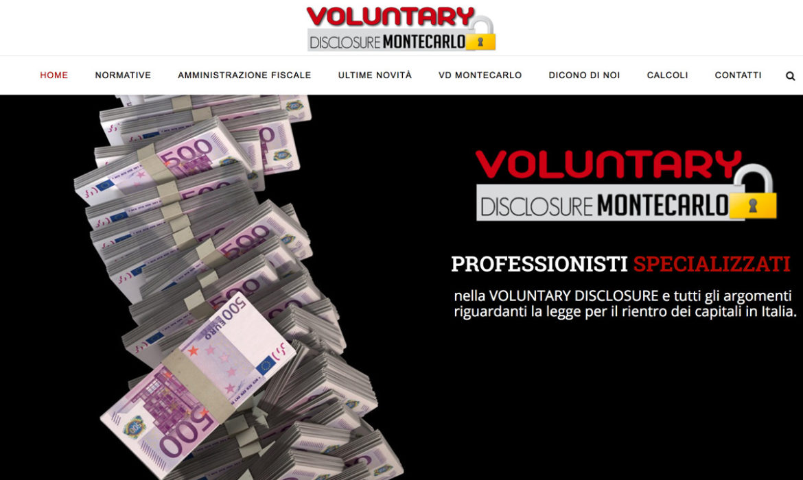 Voluntary disclosure